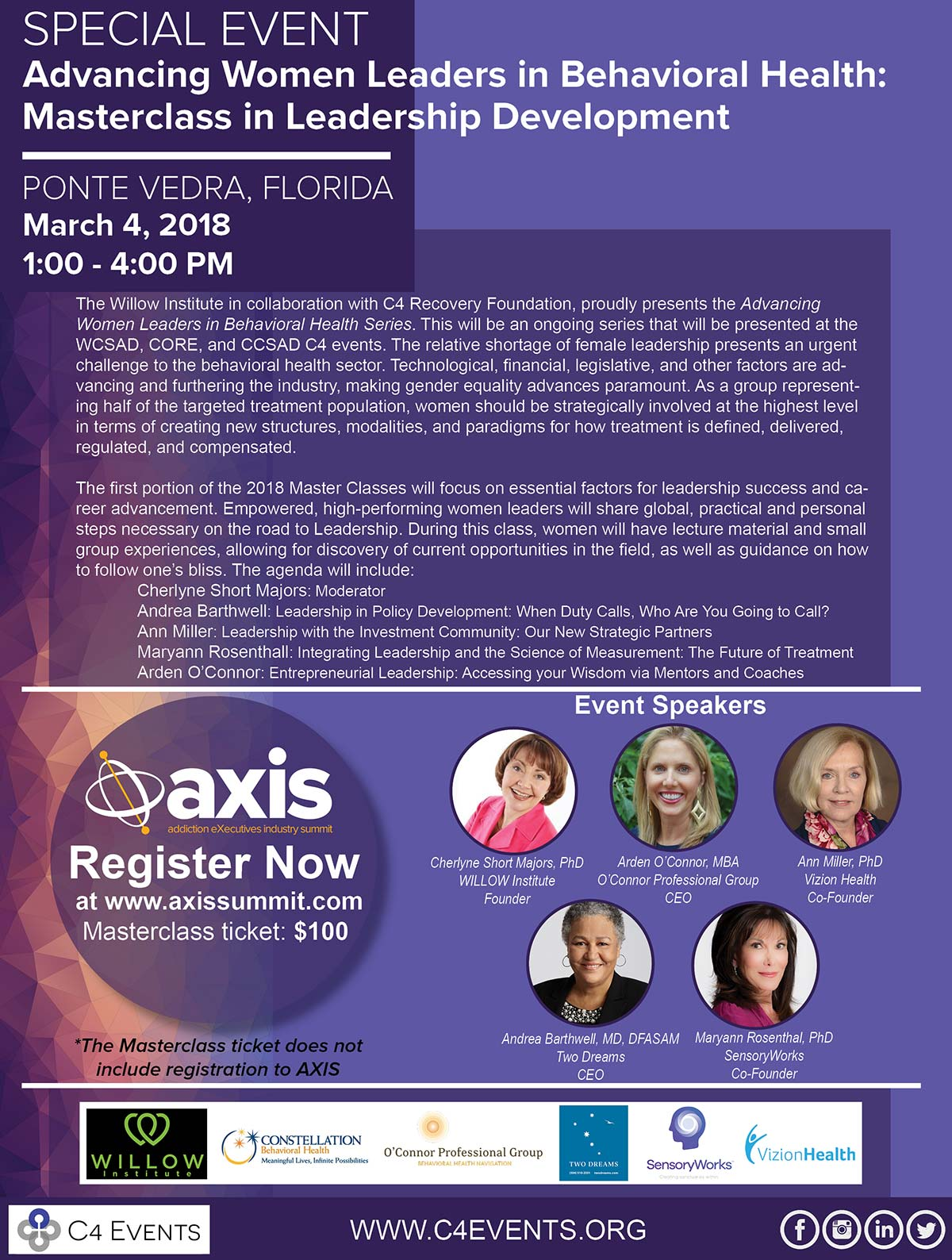 Special Event: Advancing Women Leaders in Behavioral Health
