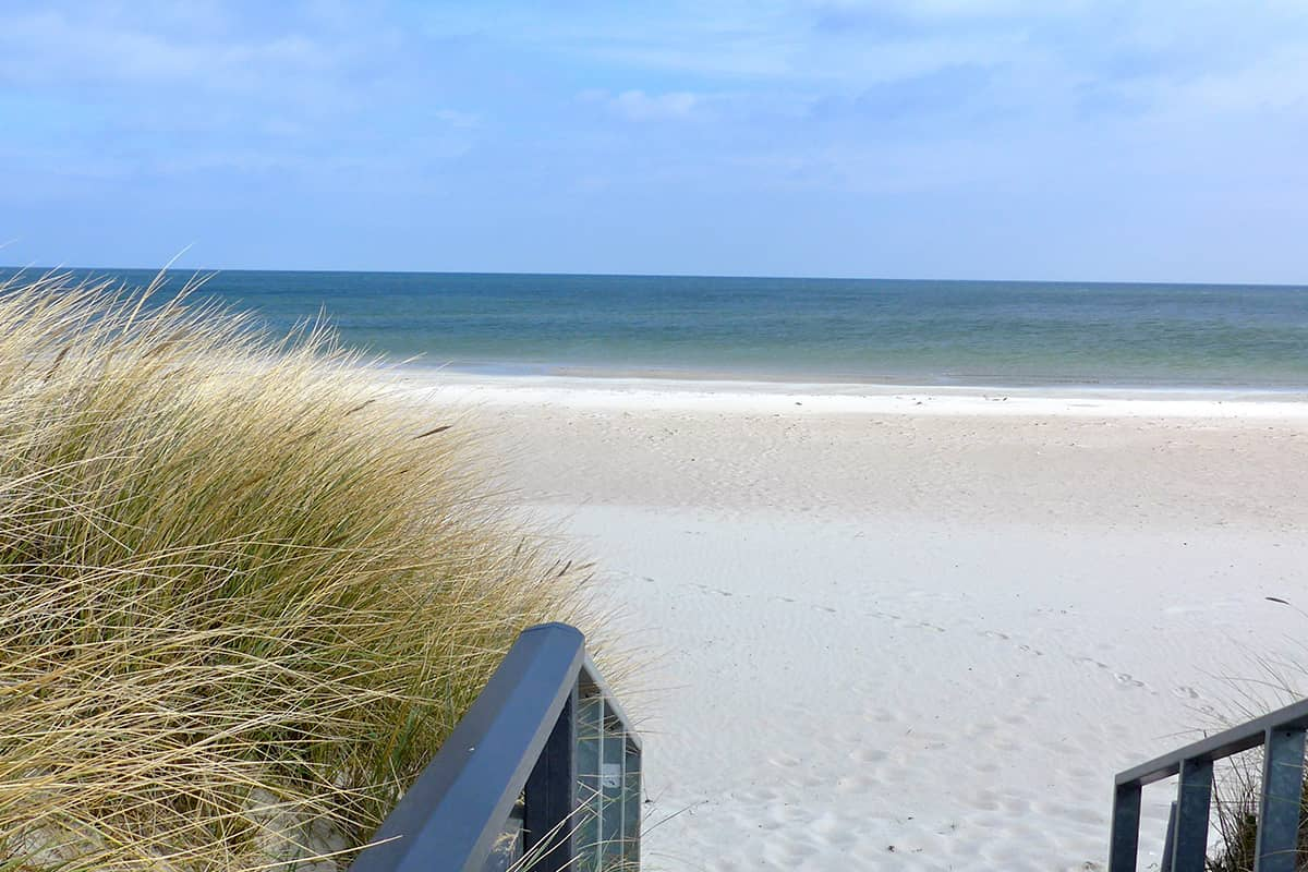 A Walkway To The Beach