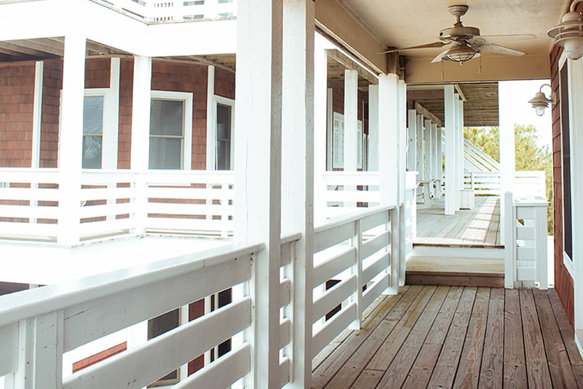 The Outer Banks house porch